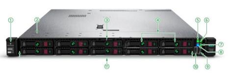 سرور اچ پی DL380 Gen10 Server-front