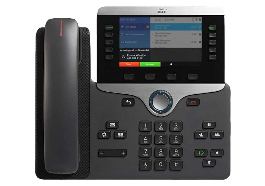 8861-cisco ip phone configuration