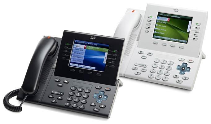 پیکر بندی تلفن سیسکو 8961