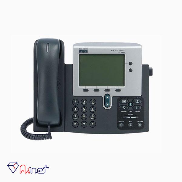 cisco-ip-phone7940-تلفن تحت شبکه