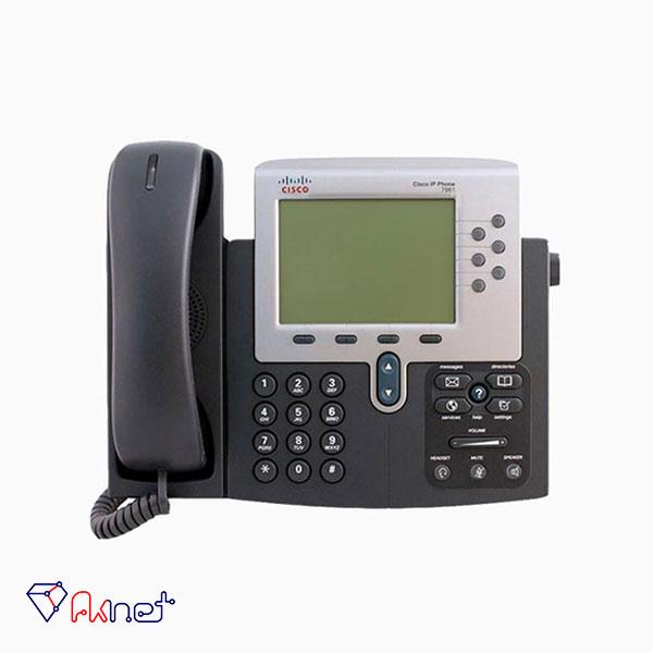 cisco-ip-phone7961-تلفن تحت شبکه-تلفن سیسکو