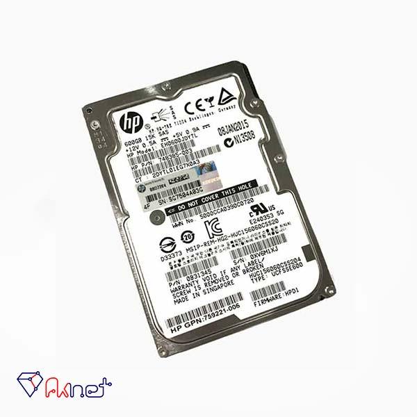 HP 600Gb 12G 15K SFF