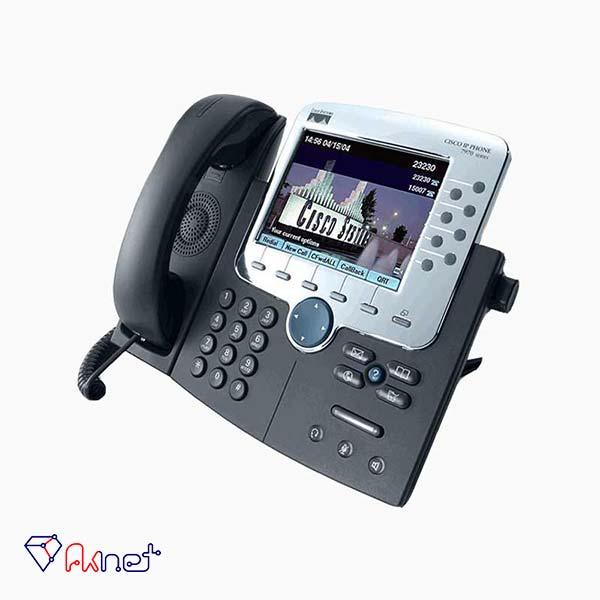cisco-ip-phone-7970g-تلفن تحت شبکه