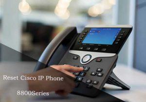 reset cisco ip phone