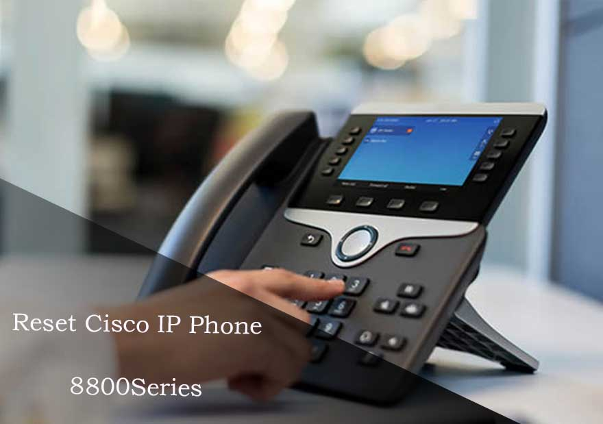 reset cisco ip phone