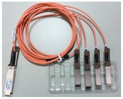 کابلهای اکتیو نوری breakout QSFP به 4تا SFP+