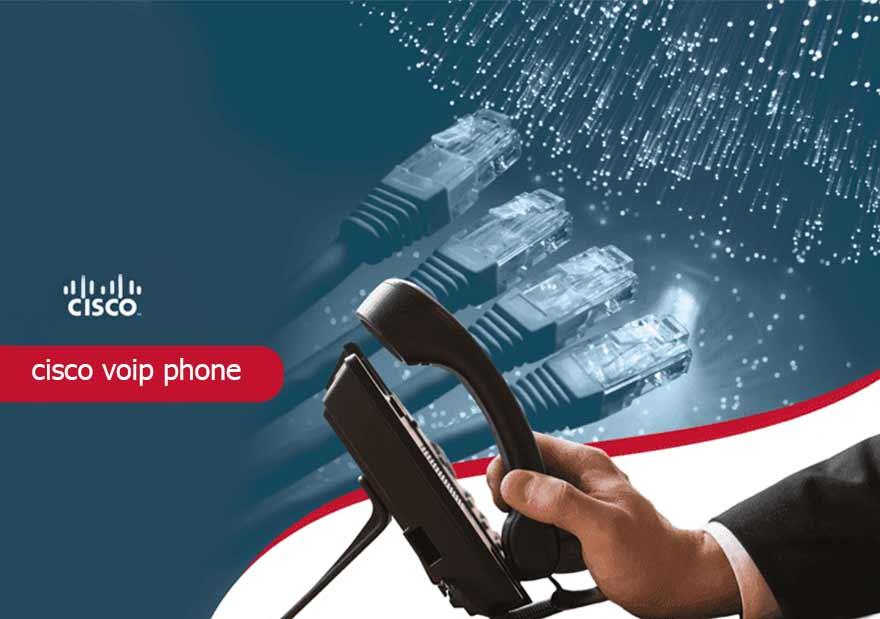 تلفن ویپ سیسکو-cisco voip phone