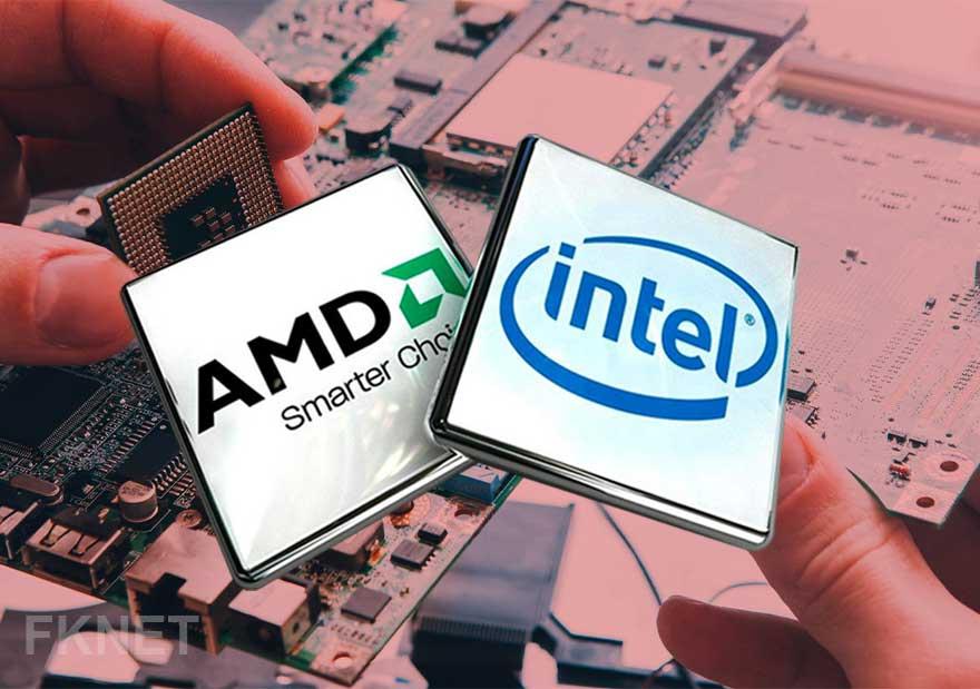 intel&amd processor-پردازنده-اینتل-سی پی یو